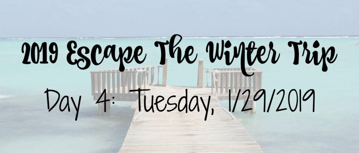 2019 Escape The Winter Trip: Day4